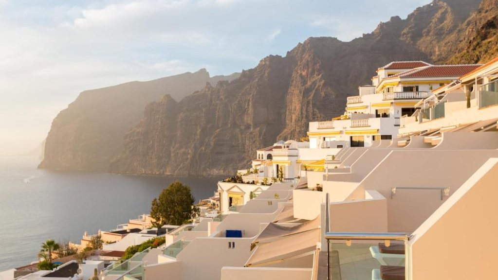 Where to stay in Tenerife, Spain - Los Gigantes Cliffs