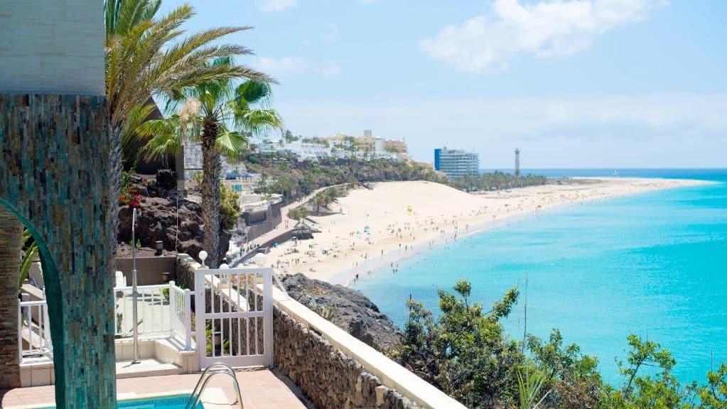 Mejores playas donde dormir en Fuerteventura - Morro Jable y Jandía