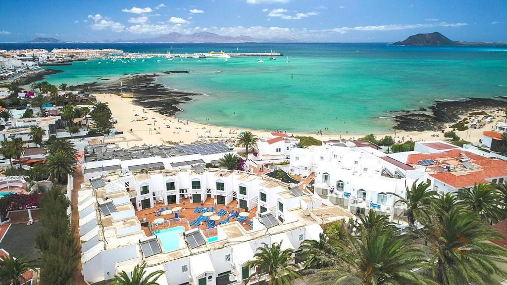 Zona más animada donde alojarse en Fuerteventura - Corralejo