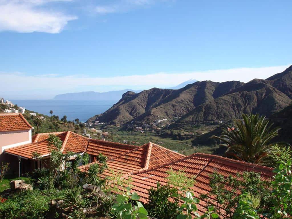 Zona tranquila donde dormir en La Gomera Valle de Hermigua