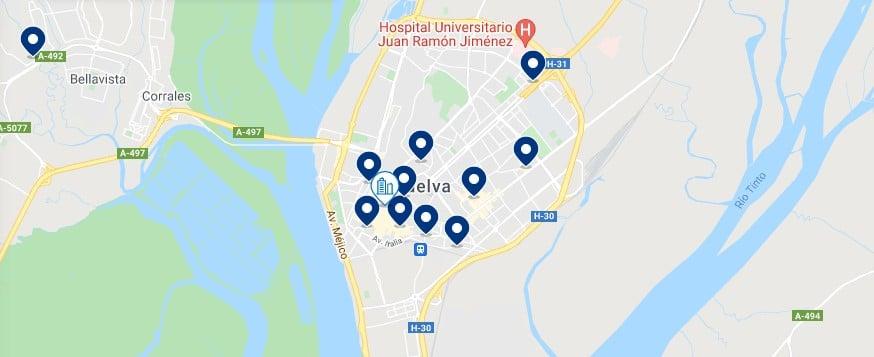 Alojamiento en Huelva Capital – Haz clic para ver todo el alojamiento disponible en esta zona