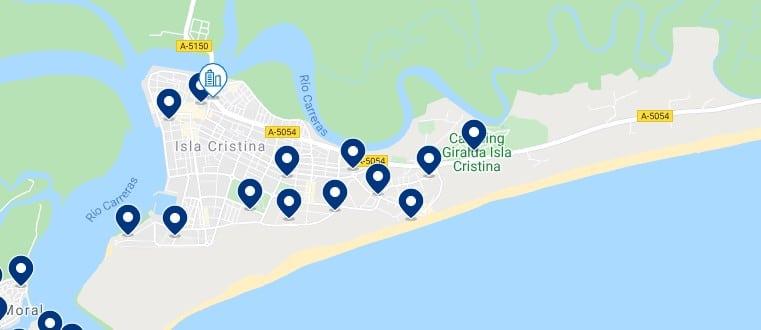 Alojamiento en Isla Cristina – Haz clic para ver todo el alojamiento disponible en esta zona