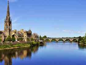 Las mejores zonas donde alojarse en Perth, Escocia