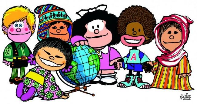 Resultado de imagen de racismo mafalda