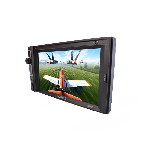 Techlink TE-6200 Double-Din Bluetooth / Tv / SD Card/ USB Çalar (CD Mekaniksiz)
