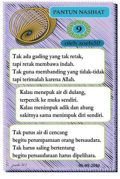 Pantun Berbalas Balasan Persahabatan : pantun, berbalas, balasan, persahabatan, Pantun, Nasihat, Mekarina, Studio
