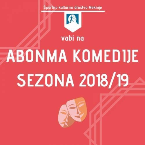 Abonma komedije 2018/19