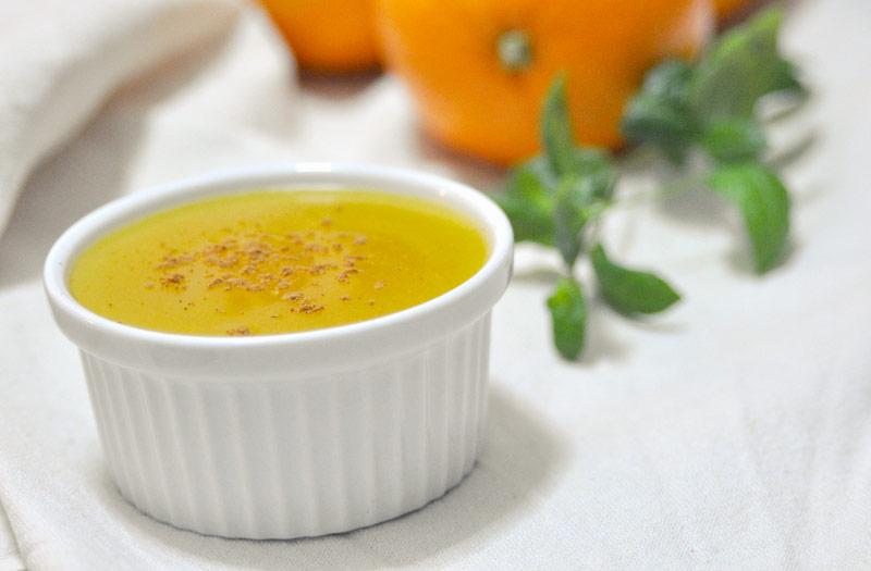 Mazamorra de naranja  MeKitchen