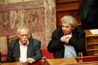 La ultima votare pentru adâncirea austerităţii au mers să protesteze în Parlament Manolis Glezos şi Mikis Teodorakis, două personalităţi respectate.