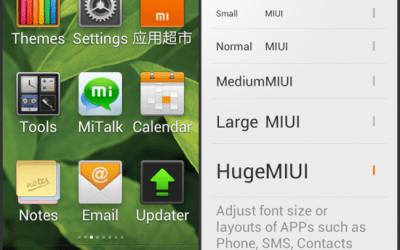 MIUI 2.8.3 e Italian pack da Nexus lab