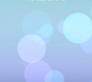 ios7 lockscreen