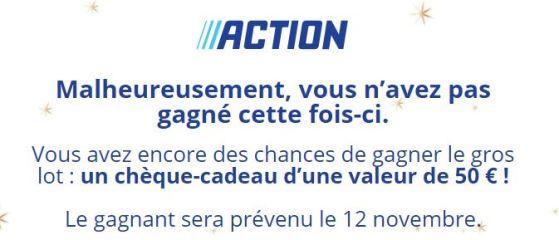 Action : Des chèques cadeaux à gagner