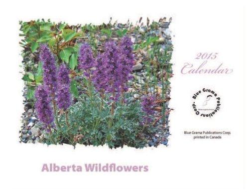 2015 AB Wildflowers Calendar Back