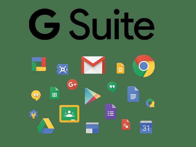 Guida servizi Google G suite logo big