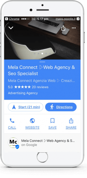 Google My Business Mobile