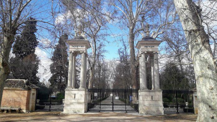Jardim do Príncipe em Aranjuez