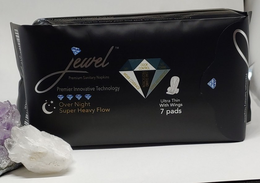 back package on jewel pads