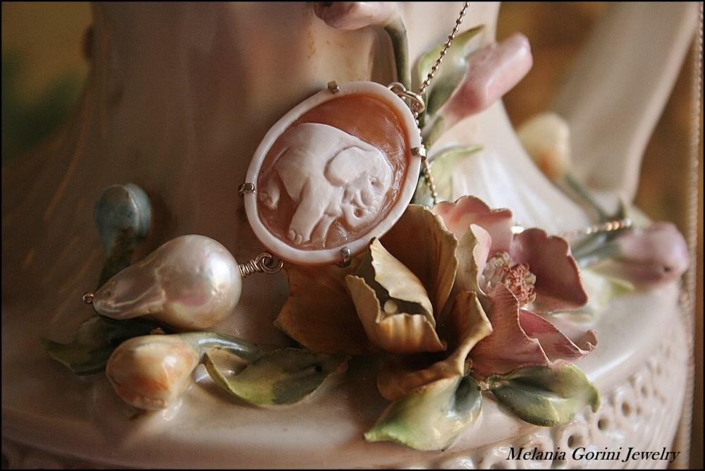 Perle barocche e cammei - Baroque pearls and cameos (3/6)