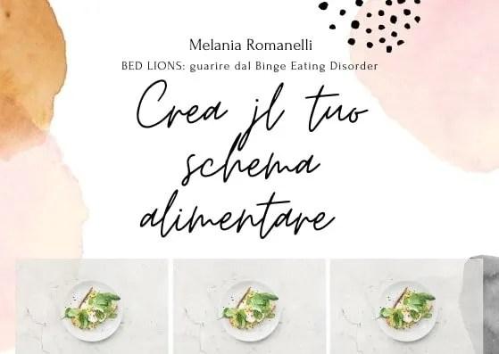 Crea-il-tuo-schema-alimentare-bed-lions-melania-romanelli