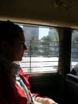 Dans le vieux tramway