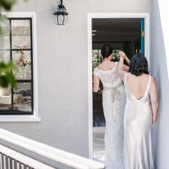 Outdoor Bbq Kitchen Nice Tables Sonia & Cynthia's Romantic Wedding – Melanie Duerkopp