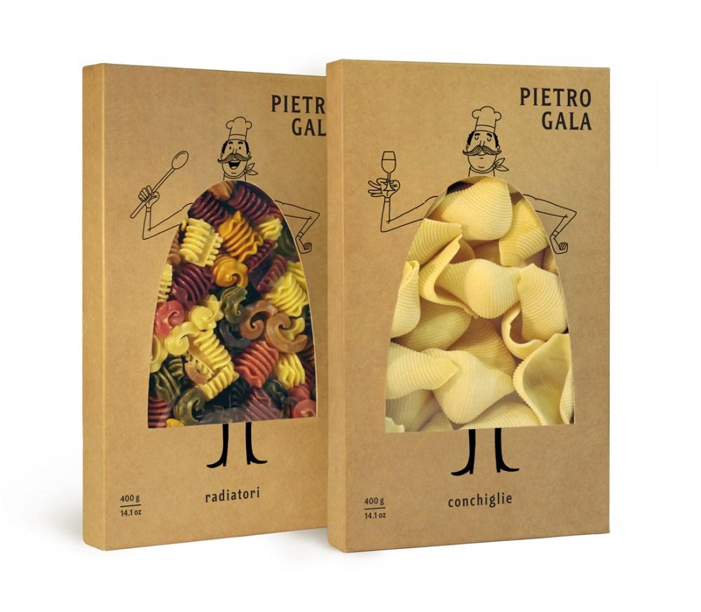 Emballage de pâtes Pietro Gala by Fresh Chicken ! (1/4)