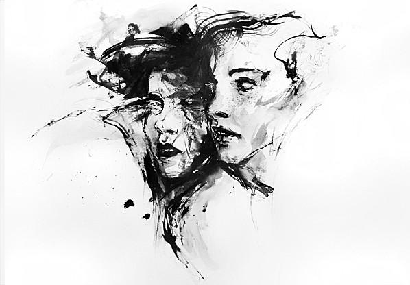 Les portraits intenses d'Agnes-cecile (Silvia Pelissero) ! (2/6)
