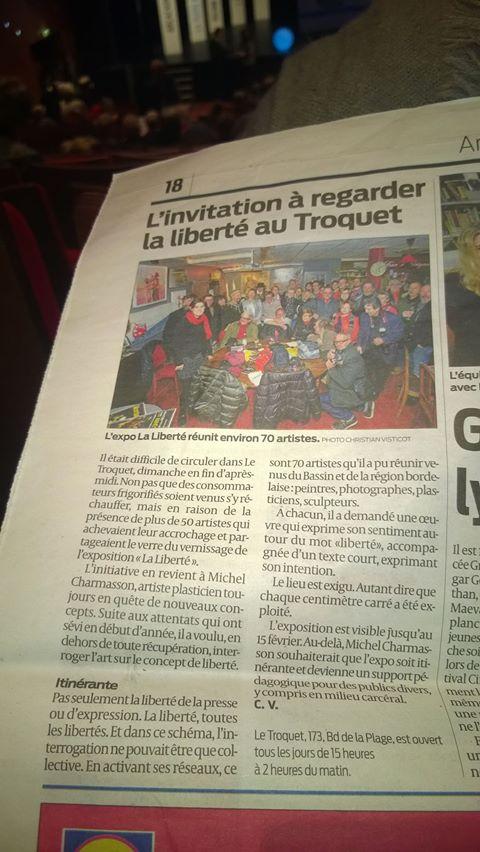 Exposition collective itinérante sur la Liberté ! (4/6)