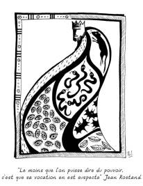 """""""La pensée du lundi"""" - illustration de pensées philosophiques"""