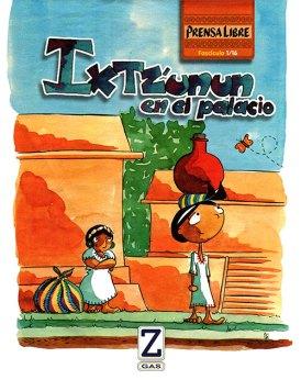 Ixtz'unun au palais - Épisode 1, couverture publiée