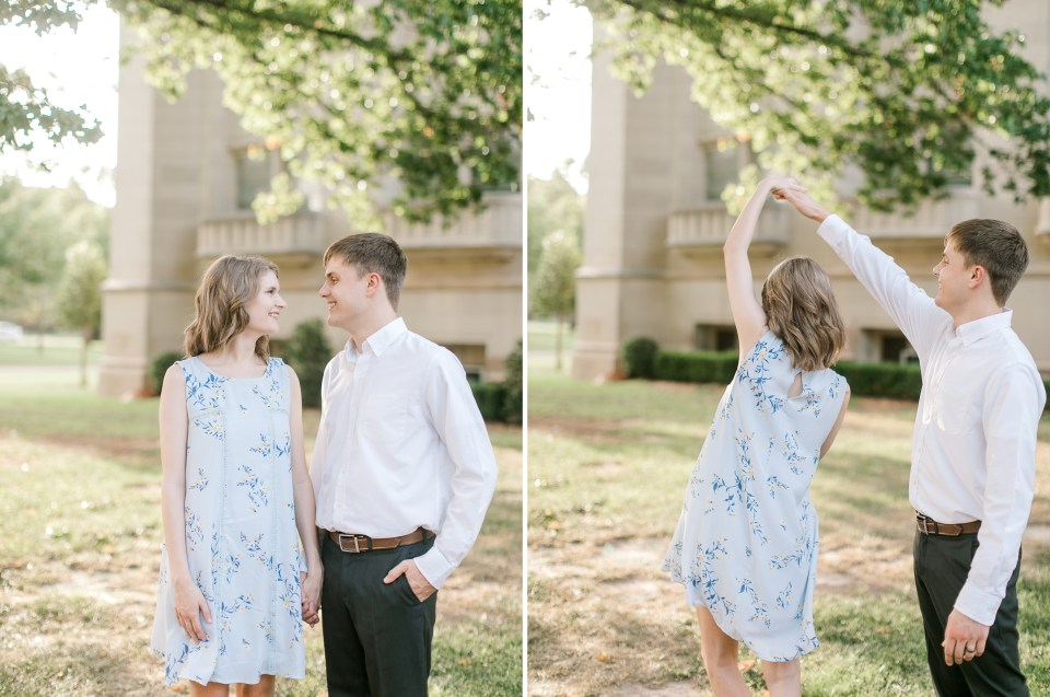 norman engagement photographer