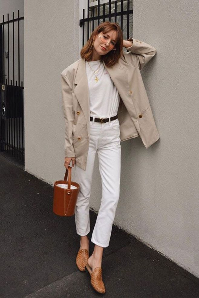 Wether you're in need of some light layers or a more airy look, these chic spring outfits will smoothly transition you into summer.