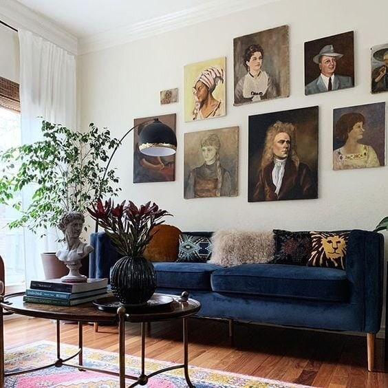 gallery wall, gallery walls, gallery, art, diy, art gallery, prints, pictures, living room, decorate