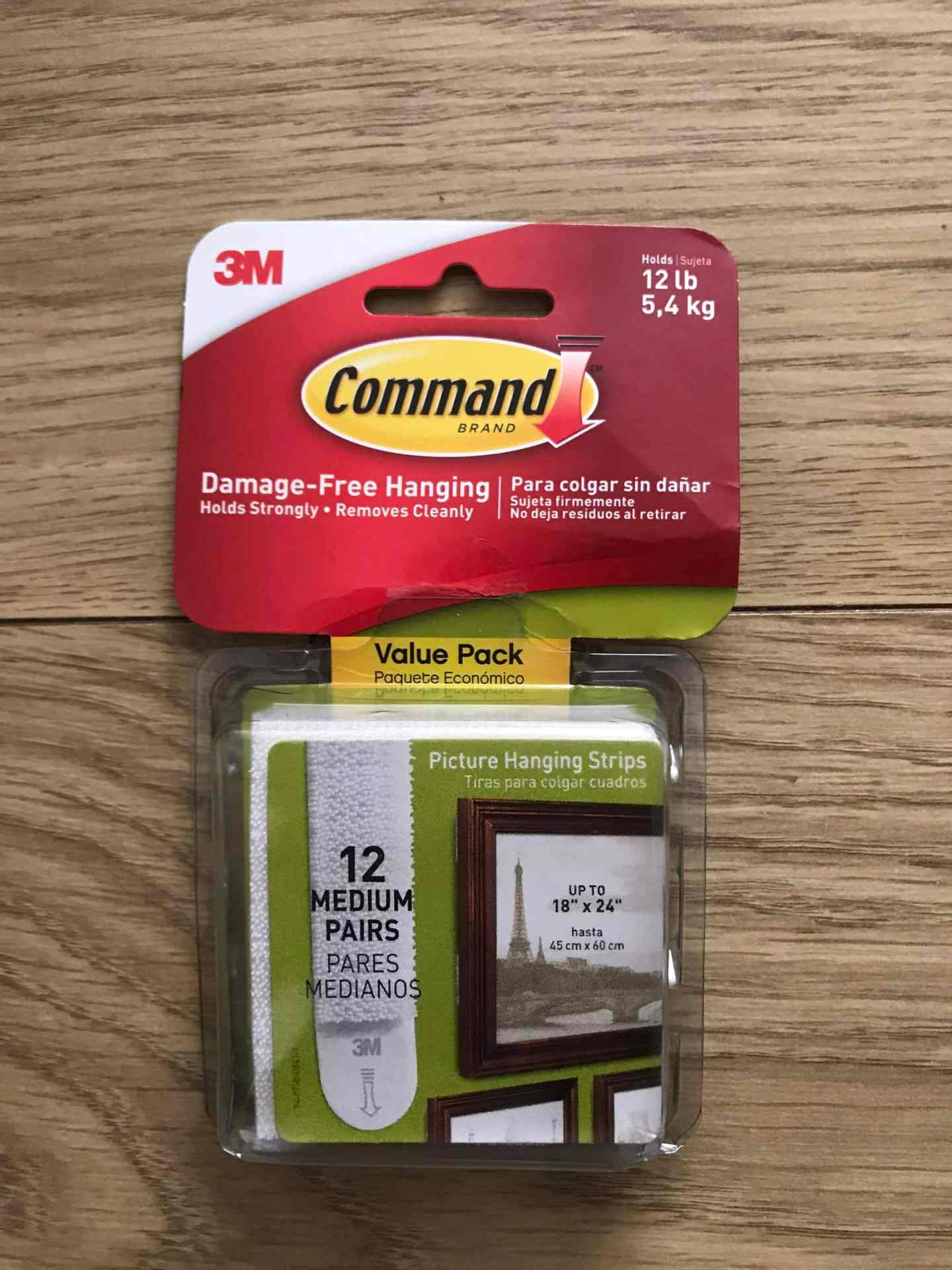 Command strips - a serial decorators best friend