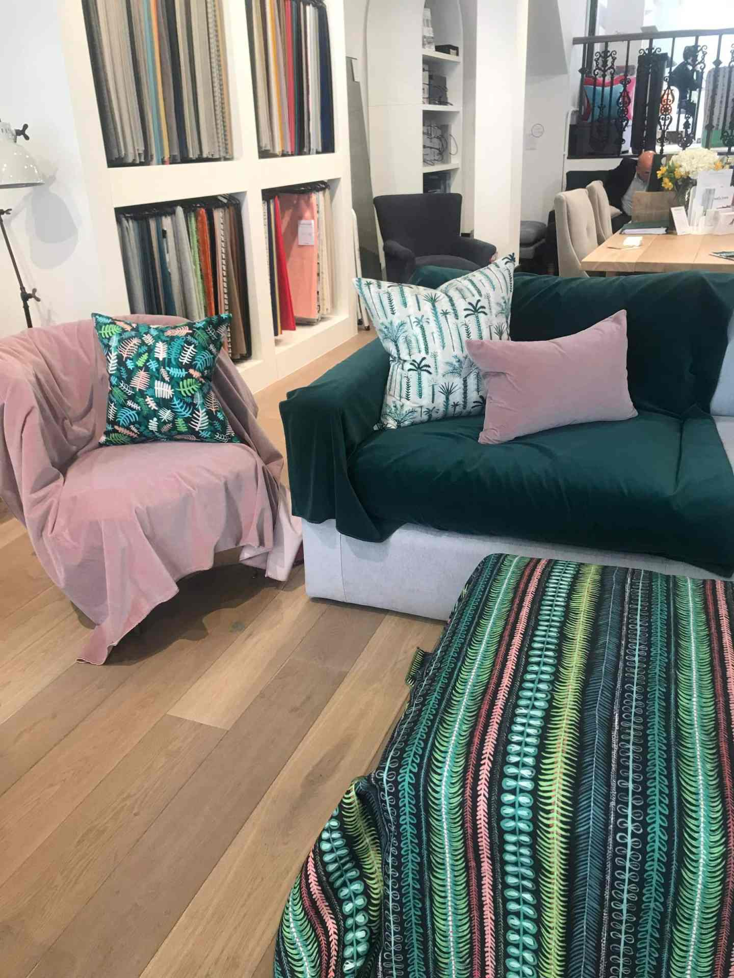 Matching it all up together with their new Lucy Tiffney fabric - perfect