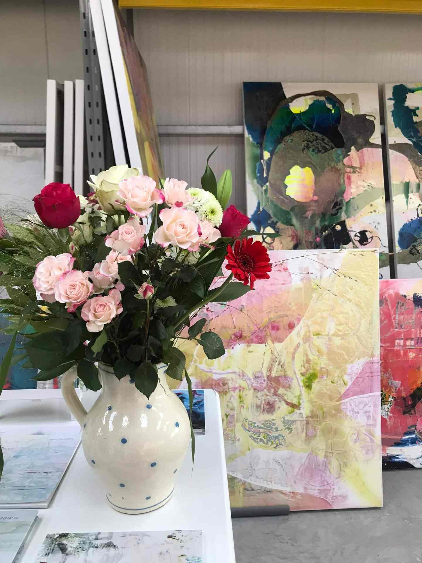Beautiful floral displays everywhere