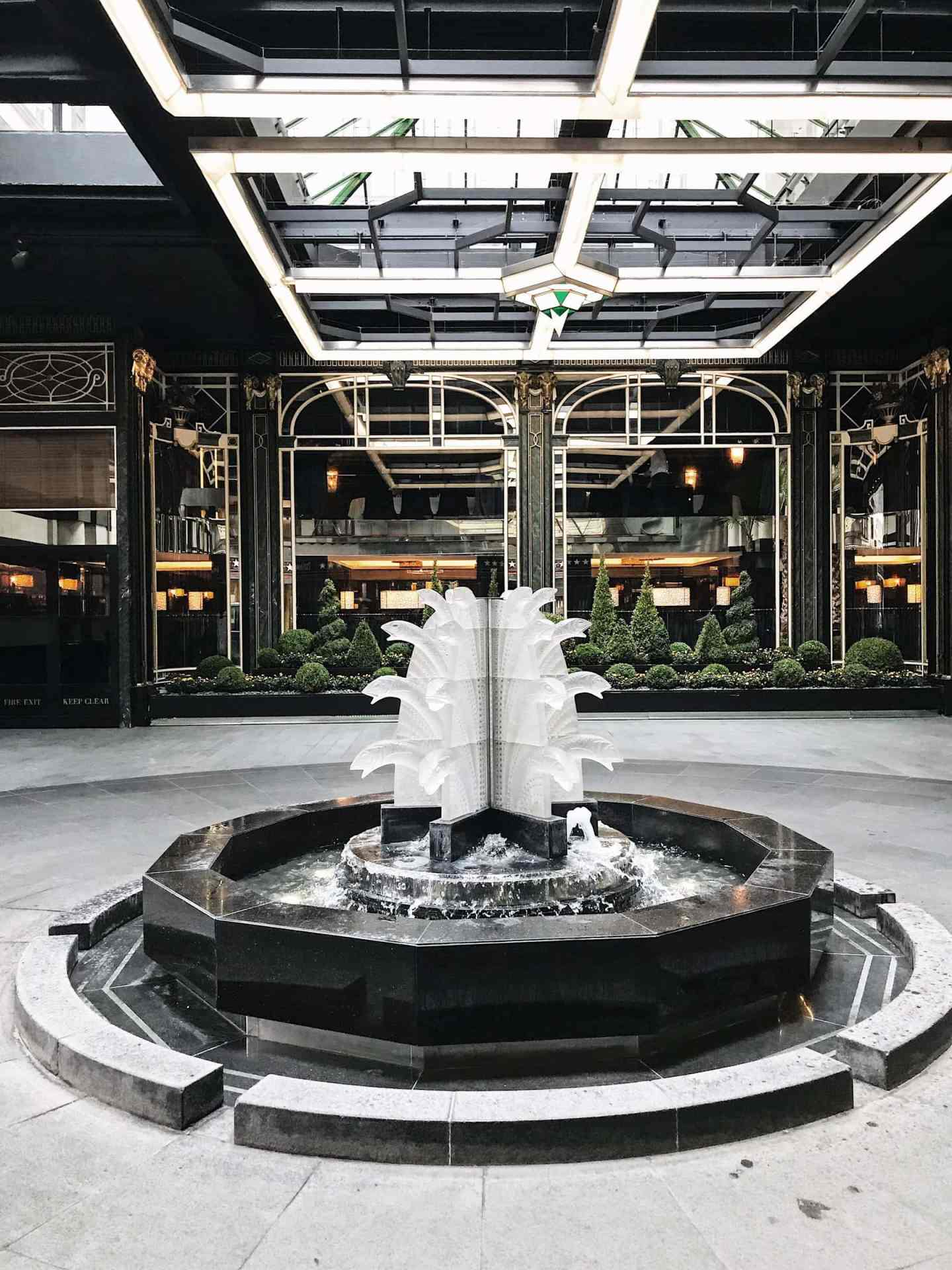 entrance to the savoy hotel