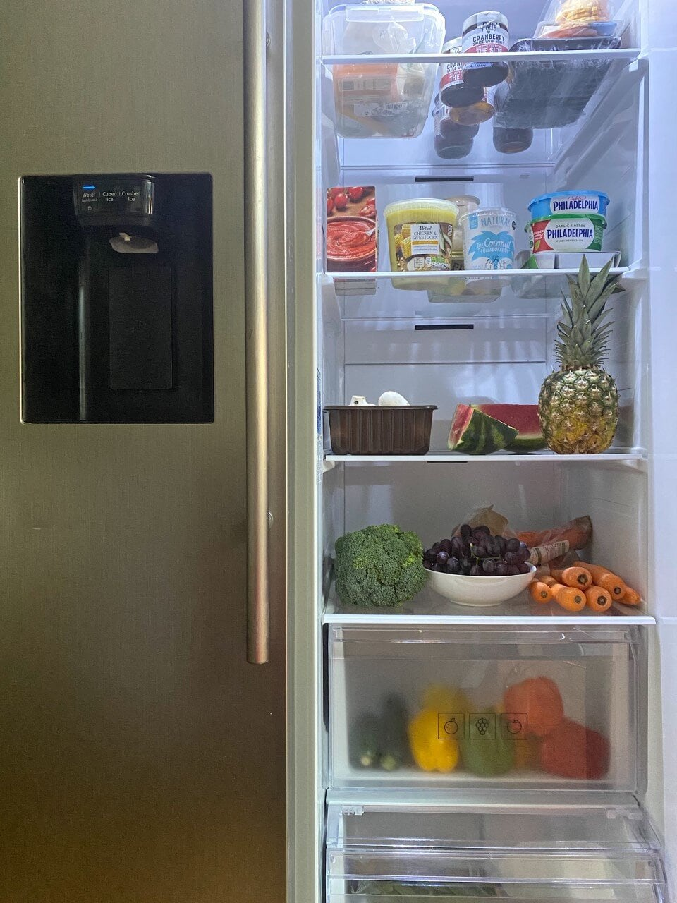 Samsung American Fridge Freezer RS8000, American Fridge Freezer, Samsung Fridge freezer, family life, review, fridge review, freezer review, entertaining, kitchen, kitchen decor, food, groceries