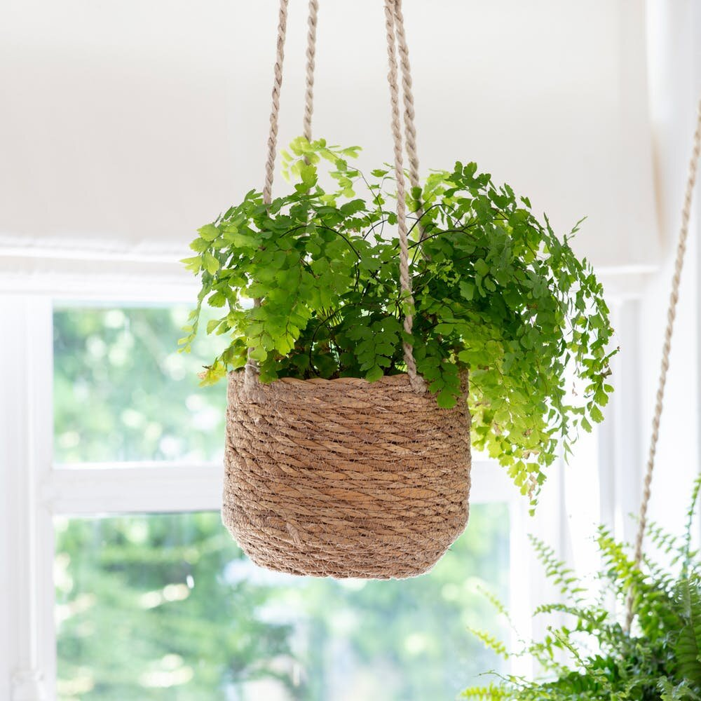 Seagrass hanging planter - Garden Trading