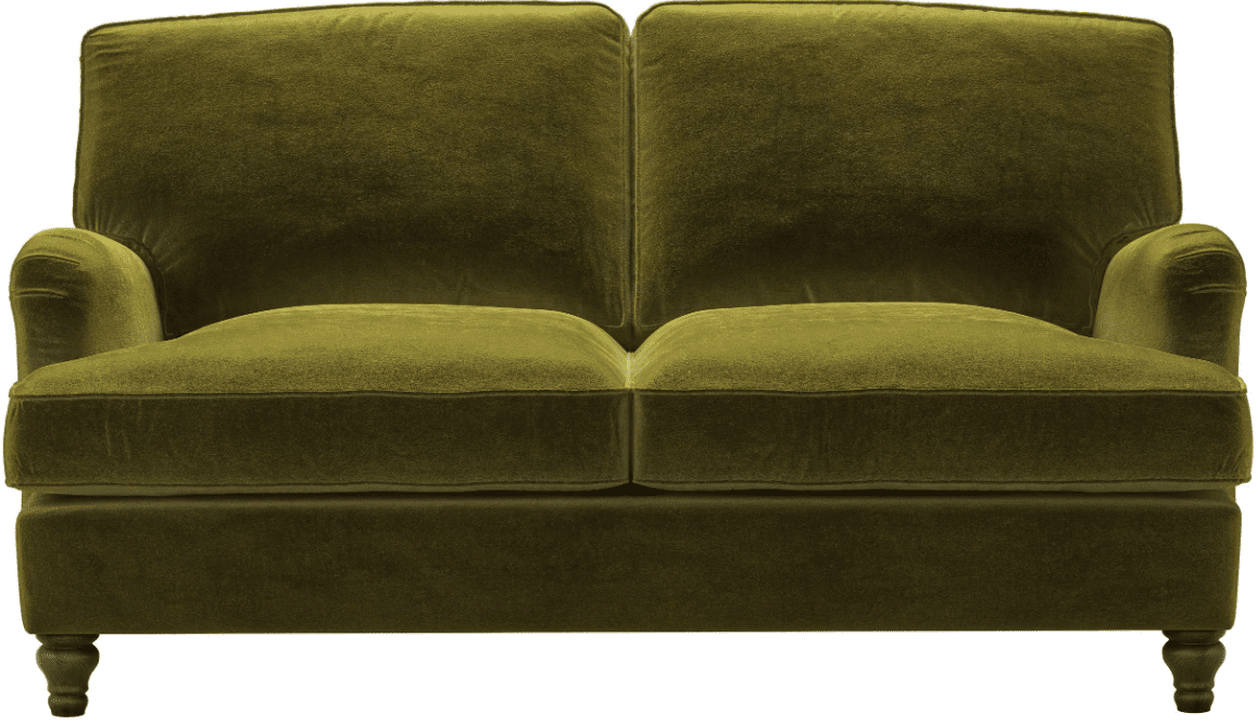 I love the colour and style of the  2 Seater Bluebell Sofa Bed in Olive