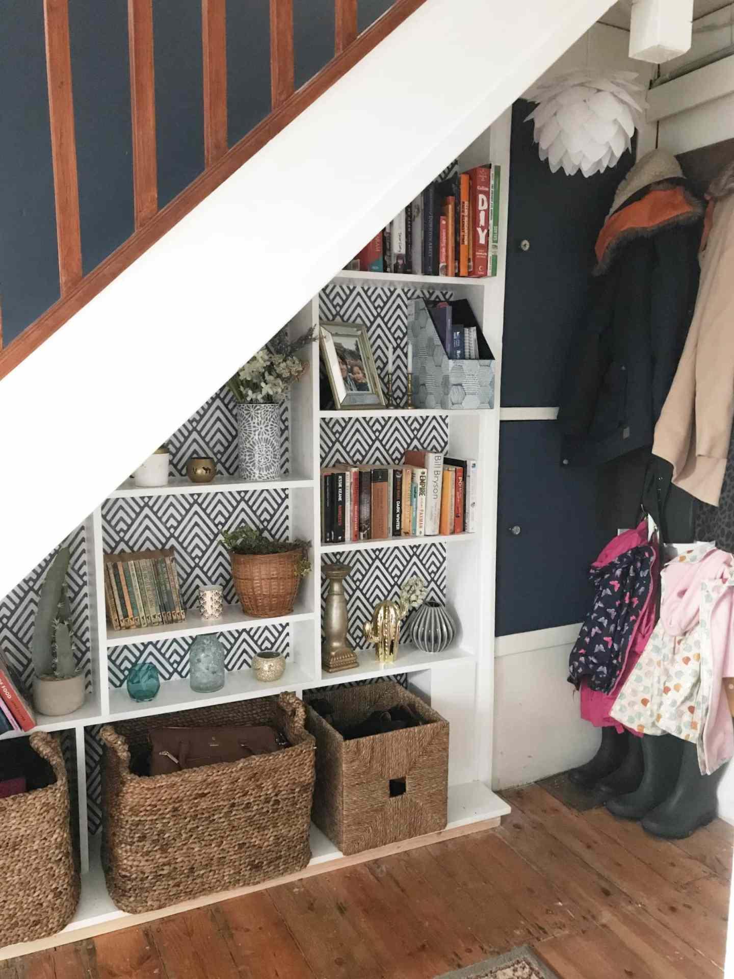 10 Easy Under Stair Storage Ideas Melanie Jade Design