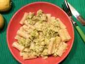 Pasta mit Rosenkohl