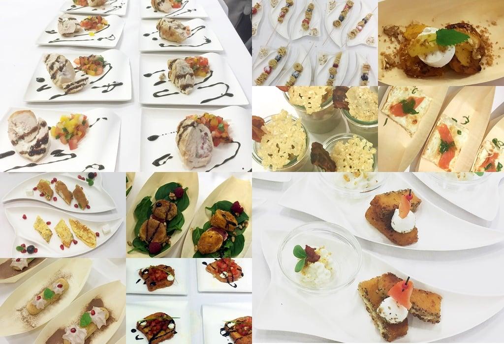 Probierschälchen Foodblogger-Event