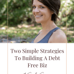 Blog Post | The financial reality of leaving your 9-5 to build a business (without going into a ton of debt) | Guest Post Sadie Simpson
