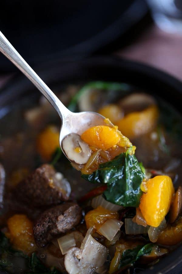 Orange Beef Teriyaki Soup - Melanie Makes