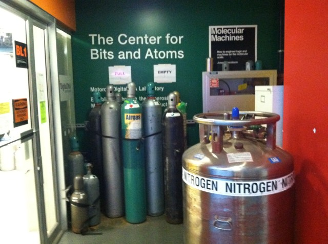 Center for Bits and Atoms, and what does one actually do there, I wonder?