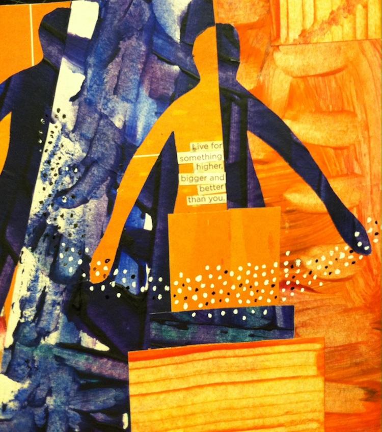 Advent Day Five, 2014, Melanie Mowinski