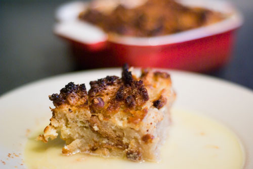 Bread Pudding. What a delicious mess.