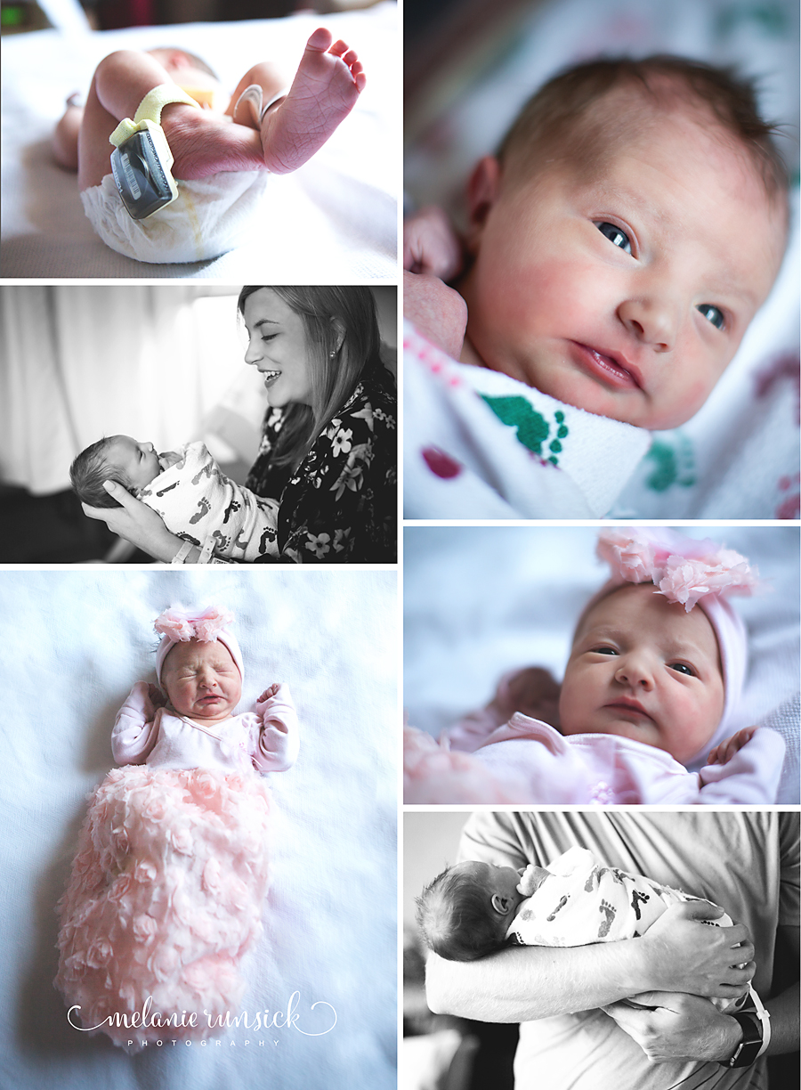 Jonesboro Newborn Photographer Melanie Runsick Photography Fresh 48 Session