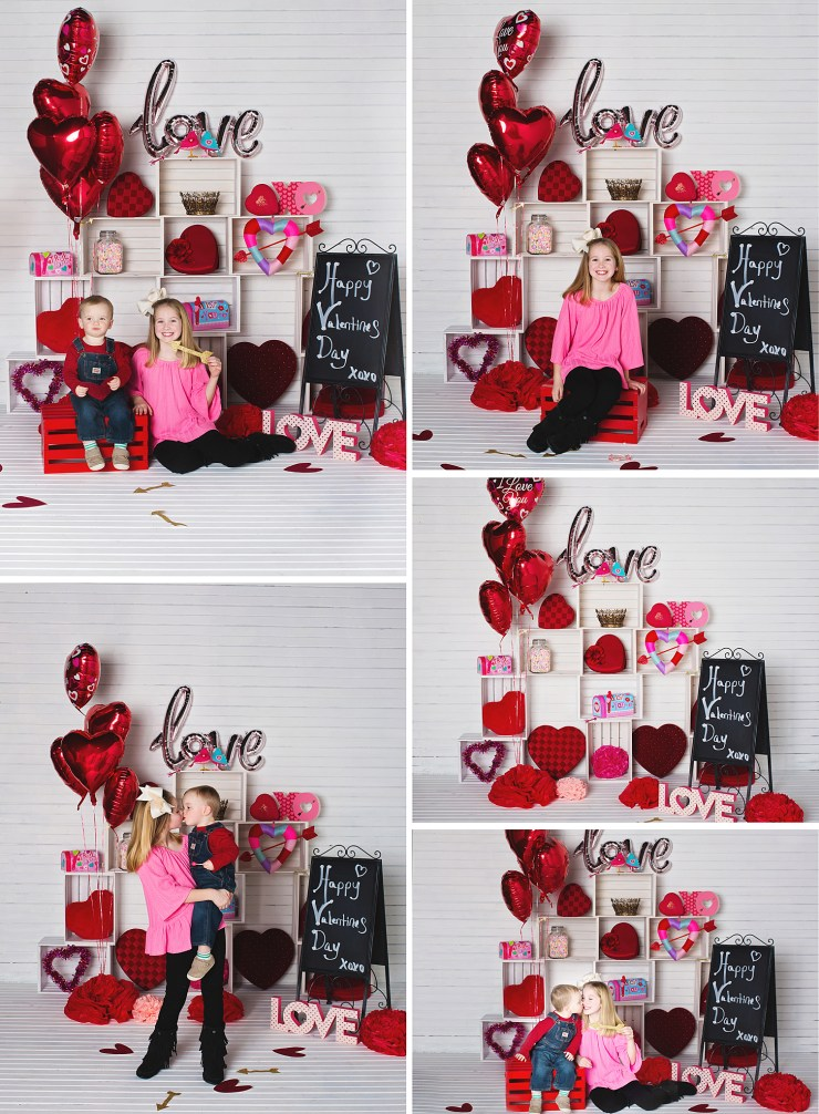 Melanie Runsick Photography Jonesboro Arkansas Valentines Day Mini Session In the Studio